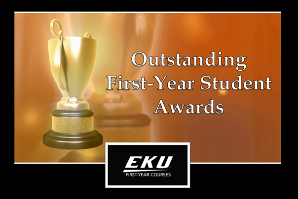 Outstanding First-Year Student Awards - Spring 2021
